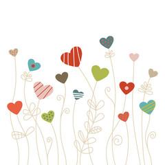 Heartflowers Retro