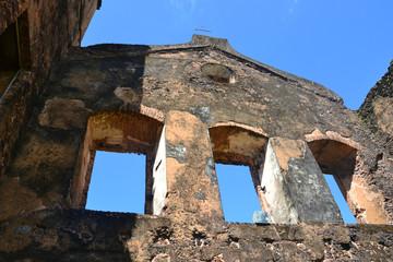 ruínas em Alcântara no Maranhão