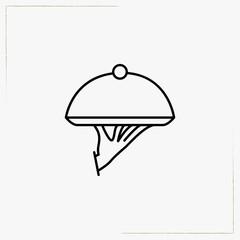tray line icon