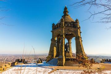 Kaiser-Wilhelm Denkmal im Winter