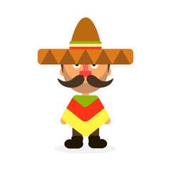 Mexican man sombrero
