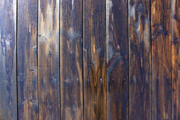 Dark wooden boards. Vintage pattern. Creative background