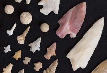 Arrowheads From Northeast Louisiana Native American Indians