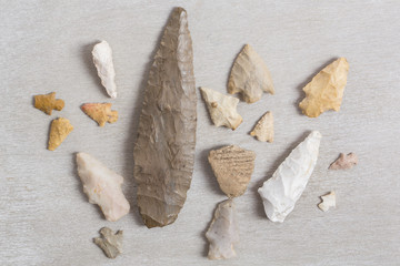 Arrowheads and Pottery from Louisiana