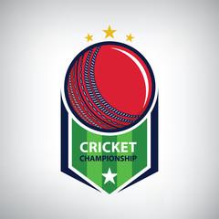 Cricket championship logo