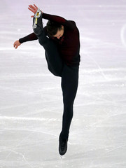 Olympics: Figure Skating-Mens Free Skate Program