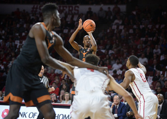 NCAA Basketball: Texas at Oklahoma
