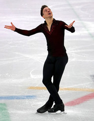 Olympics: Figure Skating-Mens Free Skate Program