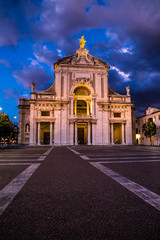 Basilica of Saint Mary of the Angels-Assisi, Italy