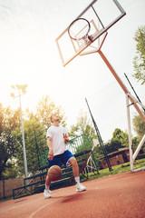 Street Basketball Payer