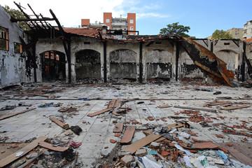 Factory Damage Debris