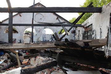 Fire Damage Debris