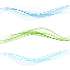 Futuristic geometrical swoosh wave lines layout with abstract fresh dynamic streaks. Vector illustration