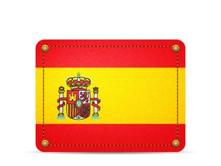 Denim Spain flag