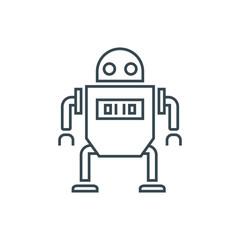 robot sign icon