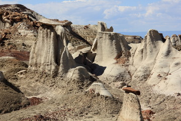 Hoodoos und Badlands Bisti Wilderness Area New Mexico USA