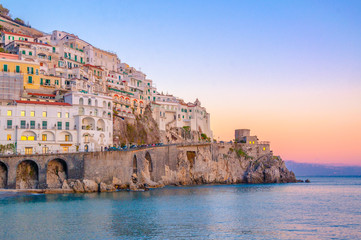 Sunset at Amalfi