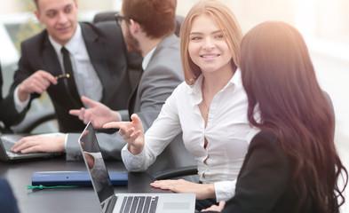 women employees in the office