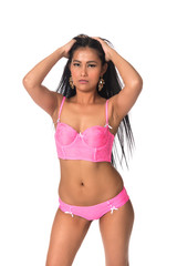 Filipina in pink