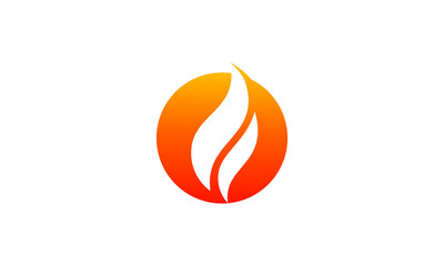 Fire logo vector. flames icon
