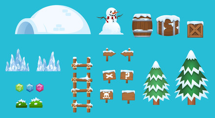 Christmas Game Objects