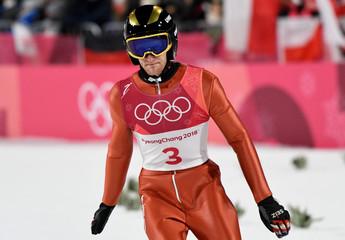Olympics: Ski Jumping