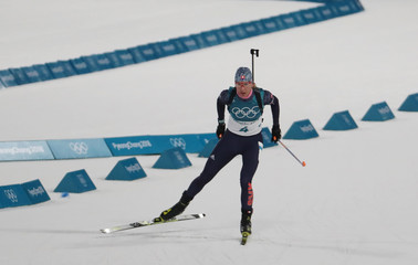 Olympics: Biathlon-Womens 12.5km Mass Start
