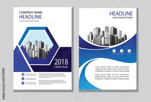 Design Cover Book Brochure Layout Flyer Poster Business Template - Brochure layout template