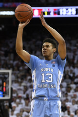 NCAA Basketball: North Carolina at Louisville