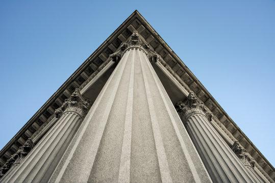 columns of building art decor