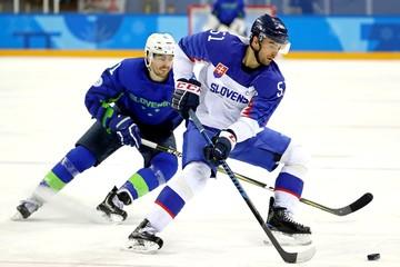 Olympics: Ice Hockey-Men Team Group B - SLO-SVK