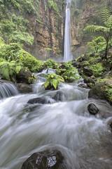 Banyu Biru Waterfall, East Java, Indonesia