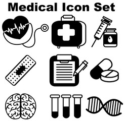 Icon design for medical equipments
