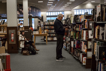 Area residents spend a Friday afternoon at Barnes & Noble in Bethel Park