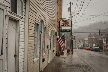 Hot Rod's House of BBQ, a popular local restaurant, is seen in Waynesburg