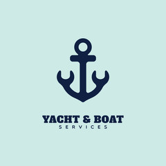 Yacht service logo