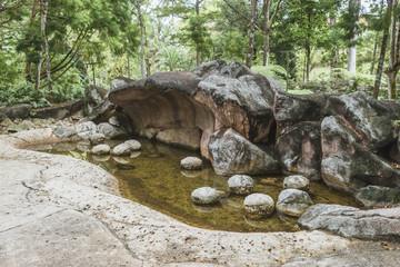 prehistoric nature landscape