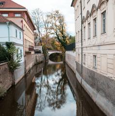 Fluss in Prag