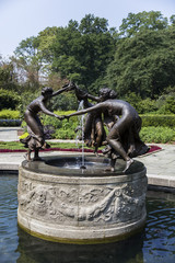 Untermeyer Fountain in Central Park, New York City