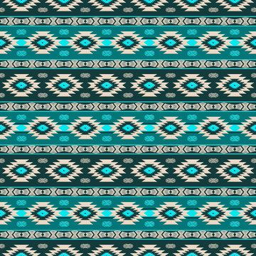 Southwest navajo pattern