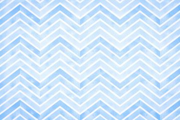 Watercolor abstract blue striped background.