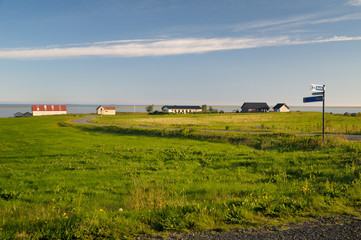 Small village in Iceland