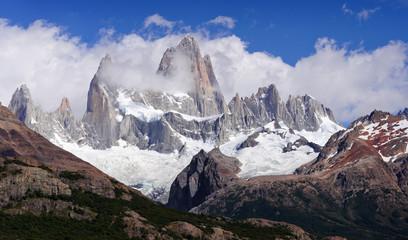 Argentina Patagonia Fitz Roy cloud