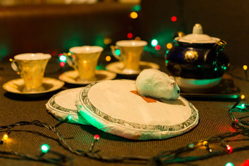tasting of Chinese tea, Good New Year spirit