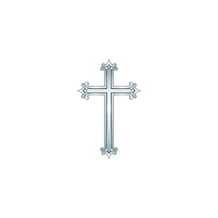 Cross 01 Silver - 11CrSl11Wbg