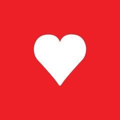 heart vector icon love symbol