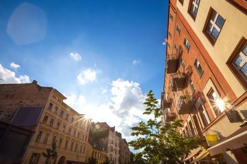 berlin kreuzberg colorful buildings