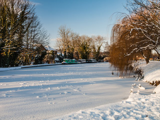 Grand Union Canal in Winter