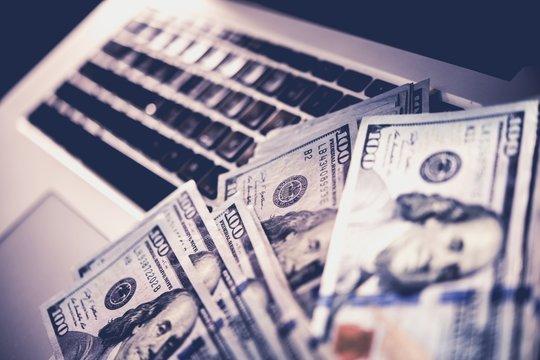 Internet Online Scam Money