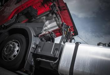 Maintenance of Semi Truck